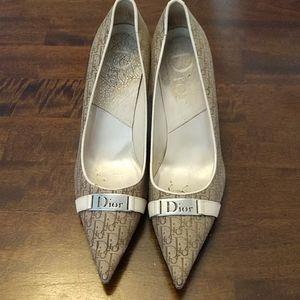Dior Monogram Pumps Size 38